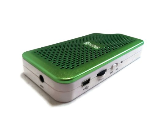 DIVOOM iTour 30 Green Best Portable Stereo Travel Speaker 4