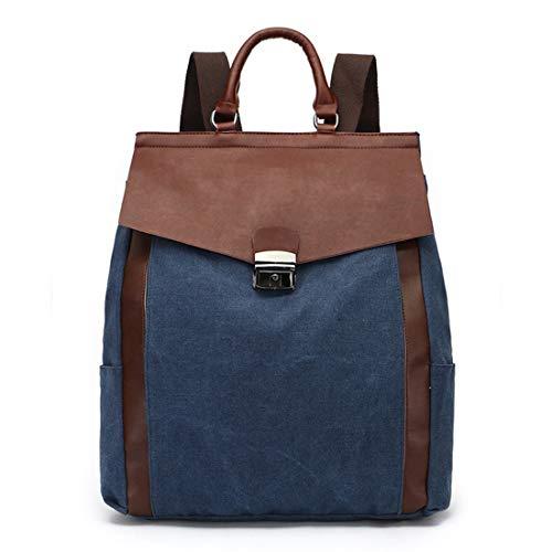 Voor Khaki Marineblauw Canvas Winkelen Mannen Waterdicht Rits Schooltassen Rugzak Weatly kleur Vintage vrouwen Draagbaar Winkelen CqOFf8
