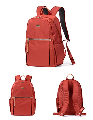 Travel School Backpack Waterproof Fashion Nylon Fouvor Bag Daypack 285801 Red qI1YwpO
