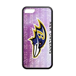 TYHde NFL Super Bowl Baltimore Ravens Cell Phone Case for Iphone 5/5s ending