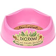 Large Pink Dog Feeding Bowl