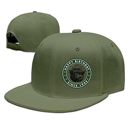 Boss-Seller UnisexCool Smokey Bear Keep It Green School Baseball ForestGreen (Smokey The Bear Costume)