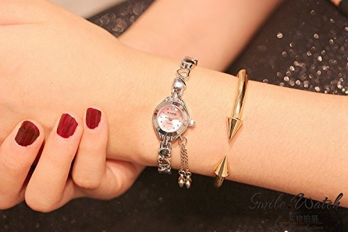 Generic Korean students watch women girls lady table watch women girls lady school students watch Shi Ying watch birthday gift Pendant Bracelet Watch