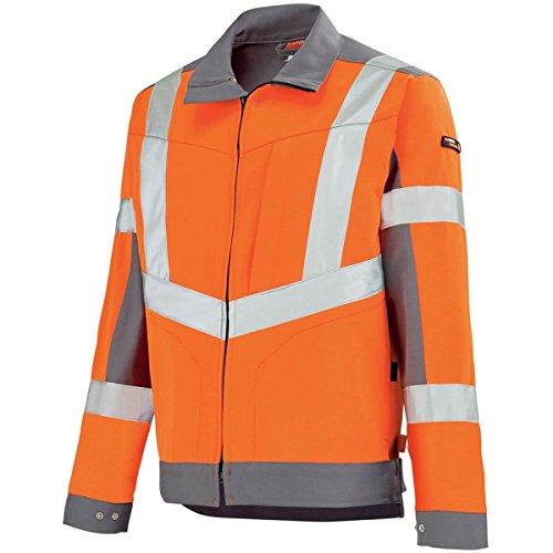 Work Lafont y Hivi Jacket gris acero Adolphe naranja Hombre d5BqFYWw