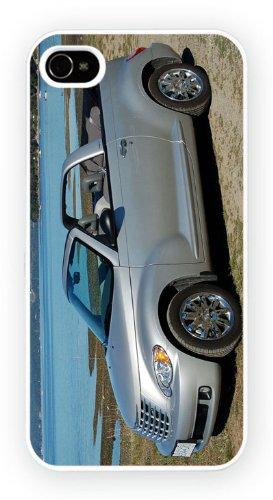 Chrysler PT Cruiser Silver Convertible, iPhone 6+ (PLUS) cas, Etui de téléphone mobile - encre brillant impression