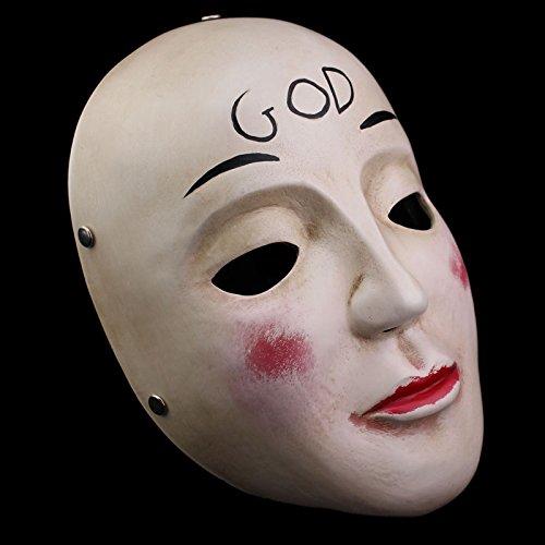 Smays Halloween Masquerade Performance Polyresin