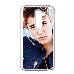 LG G2 Cell Phone Case White Justin Bieber D2285274