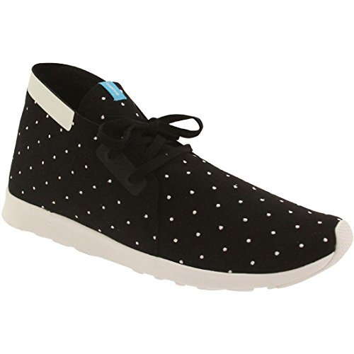 Microfiber Boot White Mid Native Apollo Shell Jiffy Top Polka Chukka Black Embroidered Dot Men's FAFUqYw4