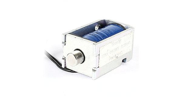 12V DC Saug-Mikro-Elektromagnet Feder Push-Pull-Typ Stabmagnet 4mm YG S2 YJ