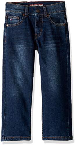 Tommy Hilfiger Little Boys' Stretch Denim Jeans, Athletic Niagara, 4 ()
