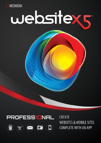 Website X5 Professional 10 [Download] by Incomedia