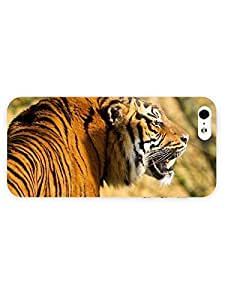 3d Full Wrap Case for iPhone ipod touch4 Animal Angry Tiger55