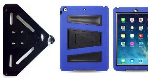 SlipGrip ram-holマウントfor Apple iPad Pro 9.7 inchタブレットを使用して丈夫なアーマーV -スタイルスタンドケース B0785V3W18