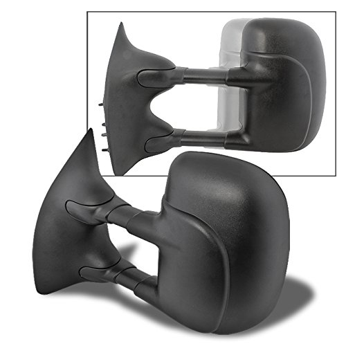For 00-05 Excusion 1999-2016 SuperDuty Pickup Truck Extendable Towing Manual Mirrors Driver Left Side