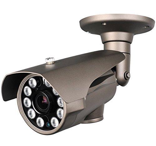 HDView® 2.4MP HD-TVI Long Range 5-50mm Lens 3rd Generation Matrix IR, Control Over Coax Cable via DVR, HD Megapixel License Plate SONY Sensor, Only Work With HD-TVI DVR