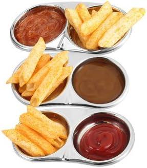 Edelstahl Würze Essig Sauce Dish Restaurant caidie Jar Würze Gerichte Küche Supplies