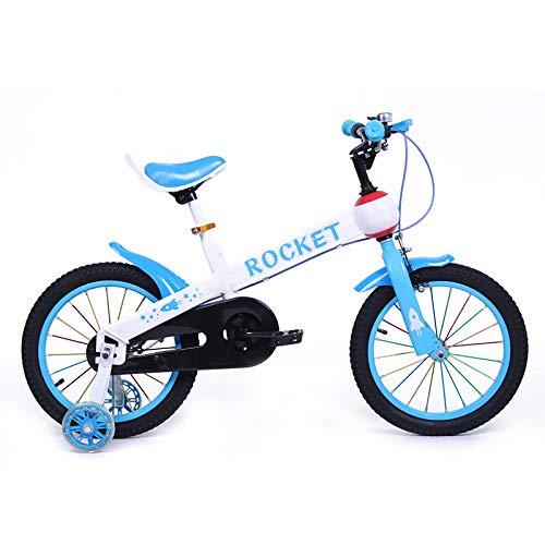Bicicleta Infantil Modelo Rocket con Ruedas de 16 Color Azul: Amazon.es: Deportes y aire libre