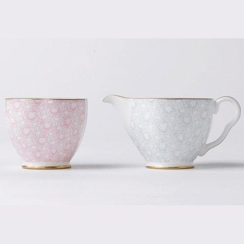 Wedgwood Harlequin Cuckoo Tea Story Cream and Sugar Set