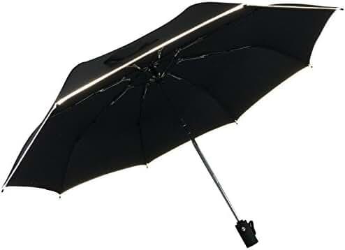 Windproof, Auto Open & Close, Compact Travel Umbrella by Rain Break Umbrellas