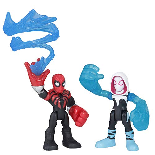 Super Hero Adventures Sha Spider Man & Spider Gwen -