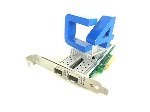 HPE 665249-B21 560SFP+ Network adapter PCI Express 2.0 x8 10 Gigabit Ethernet for ProLiant DL180 Gen9 (Renewed) (Hp Ethernet 10gb 2 Port 560sfp Adapter)
