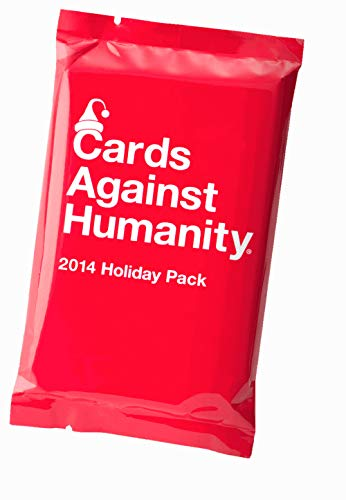 Cards Against Humanity Expansion Pack (2014 Holiday Pack (Cards Against Humanity 12 Days Of Holiday Bullshit)