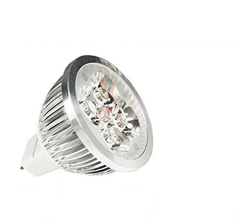 LOHAS MR16 5W LED Spotlight Ultra Bright High Power Spot light lamp with 4pcs leds Warm White 12V DC --30 Degree 700-900LM