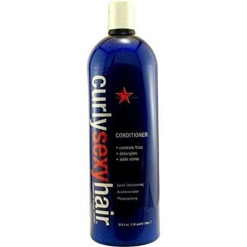 UPC 646630012503, Sexy Hair Curly Sexy Hair Moisturizing Conditioner Unisex, 33.8 Ounce