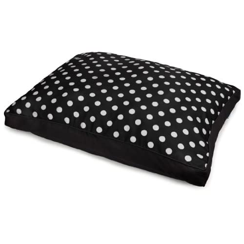 Bow Wow Pet Polka Dot Gusset Pet Bed hot sale