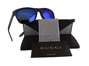 Gucci GG 3709/S Shiny Peacock w/Blue Lens 65QZ0
