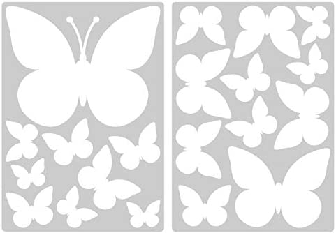 I-love-Wandtattoo Pegatina de Pared Set habitaci/ón Infantil Estrellas Blancas para Pegar Mural Pegatinas