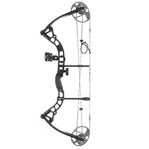 Diamond Archery Prism Left Hand 5-55# Compound Bow, Black (Left Bow Compound Hand)