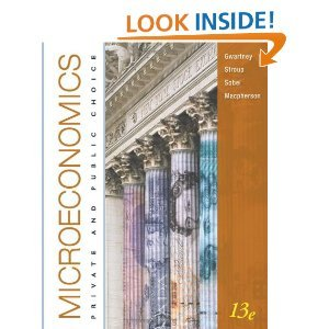 Microeconomics: Private and Public Choice 13th (Thirteenth) Edition