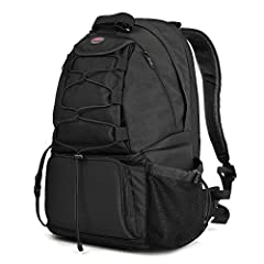 Start your stylish life and stylish photography from Paull professional DSLR/SLR camera bag backpack. Breathable air-mesh straps and ergonomic well-padded back designed for professional photographers who enjoy outdoor hiking, travellin...