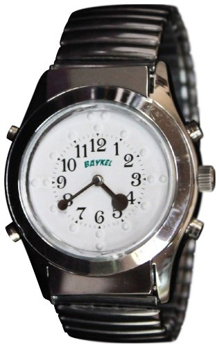 Braille Store Talking Braille Watch With Quartz Movement and Steel Hands by The Braille Store