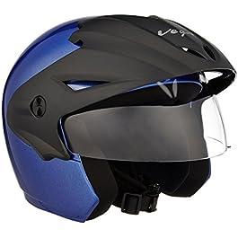 Vega Cruiser CR-W/P-MB-M Open Face Helmet (Metallic Blue, M)