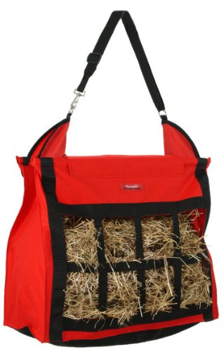 Tough-1 Nylon Hay Bag Tote with Dividers