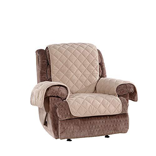 SureFit  Microfleece Recliner Pet Furniture Cover, Taupe