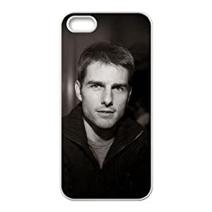 Tom Cruise-004 For iphone 5 5s Cell Phone Case White Protective Cover xin2jy-4331474