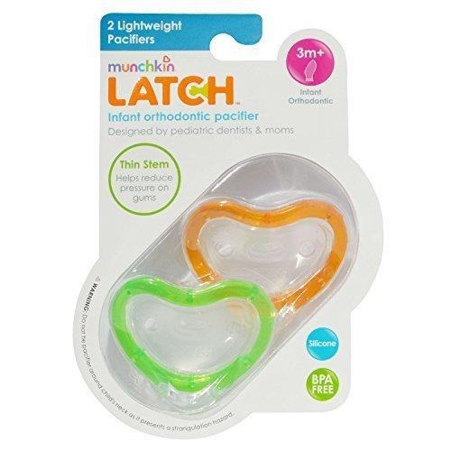 Munchkin Latch Lightweight Pacifier, 3 Months by Munchkin