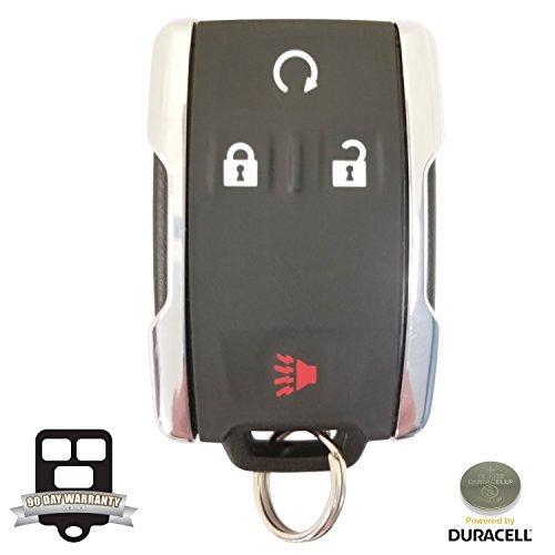 New Oem 4 Button 2014-2016 Gmc Sierra Keyless Remote 13580082 M3N-32337100