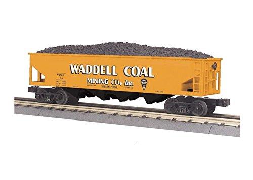 - MTH MTH3079424 O-27 Hopper w/Operating Coal Load, Waddell Coal