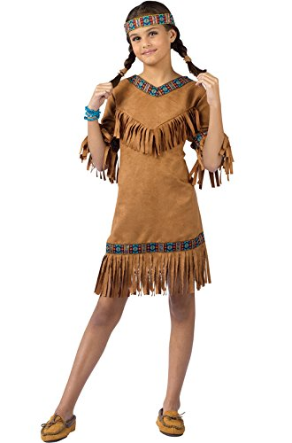 Child Native American Girl Costume (Indian Couple Costume)