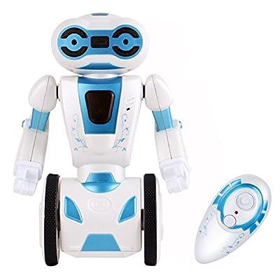 Haite Self Balancing Robot Toys 2.4GHz Remote Control RC Robotic Kit 4 operating Modes, Loading, Dancing, Gesture Sensing, Boxing Super Fun Toy Smart Robot for Kids,Boy,Girl