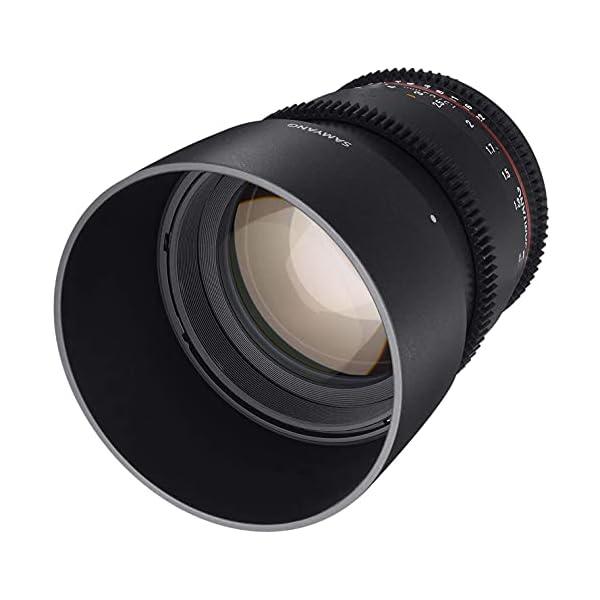 RetinaPix Samyang Brand Photography MF Lens 85MM T1.5 VDSLR II Sony E