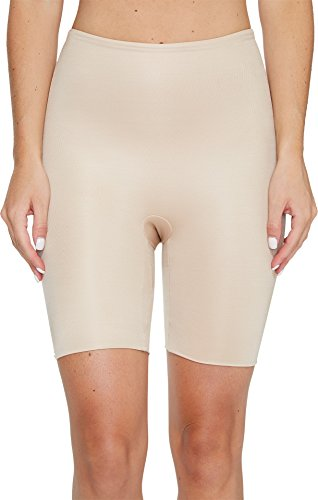 SPANX Women's Power Conceal-Her¿ Mid-Thigh Short Natural Glam Large
