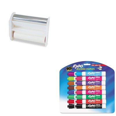 KITSAN81045XRNAT160518 - Value Kit - Xyron Acid-Free Permanent Adhesive Refill (XRNAT160518) and Expo Low Odor Dry Erase Markers (SAN81045)