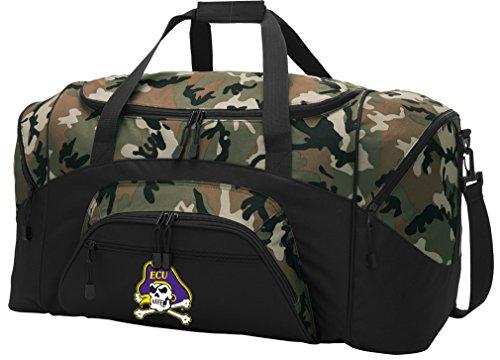 Broad Bay Large ECU Duffel Bag CAMO East Carolina University Suitcase Duffle Luggage Gift Idea for Men Man Him!