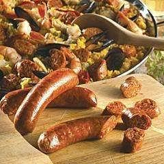 Merguez Sausages - Spicy Lamb Sausages 1.1 Lbs