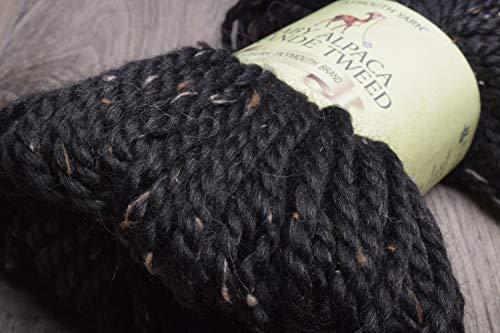 (Plymouth Yarn Baby Alpaca Grande Tweed [Black])
